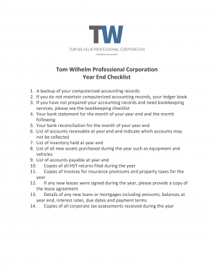 Resources | Tom Wilhelm Chartered Professional Accountants